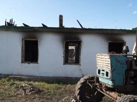 Очередная огненная трагедия произошла в регионе