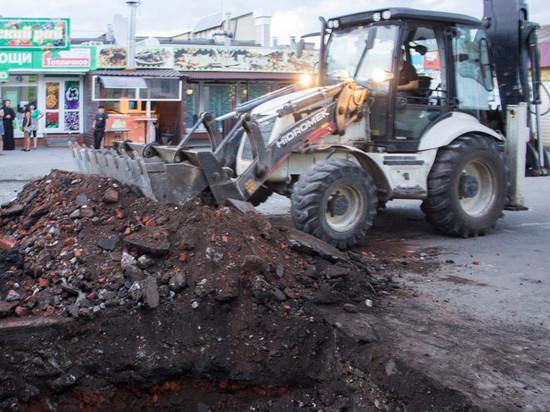 В Тамбове на месте бывшего Христорождественского храма начались археологические раскопки