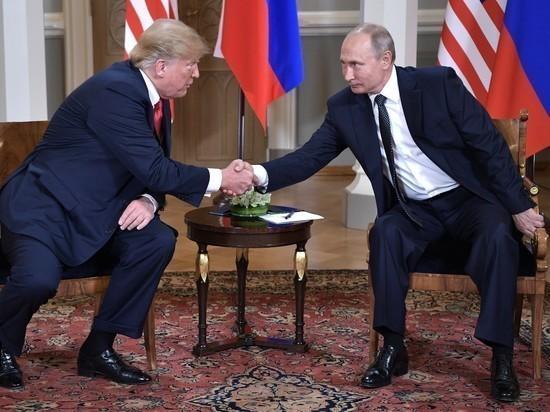 Путин сообщил Трампу документ срядом предложений