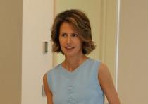 Больная раком жена Асада обратилась к сирийцам