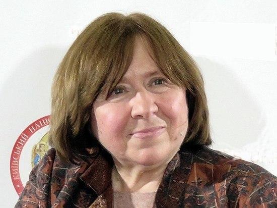 Лауреату Нобелевской премии Алексиевич припомнили Хатынь
