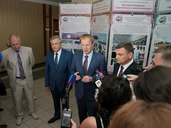Виктор Томенко анонсировал изменения в правительстве Алтайского края