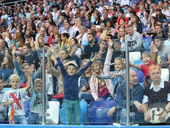 Футбольный матч «Нижний Новгород» – «Луч» посетили 28,5 тысячи человек