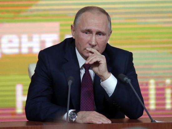 В Российской Федерации снизилась поддержка курса внешней политики В.Путина