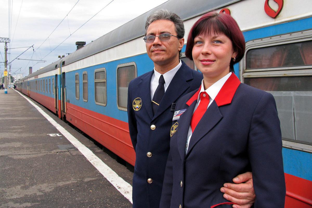 Форма начальника поезда фото