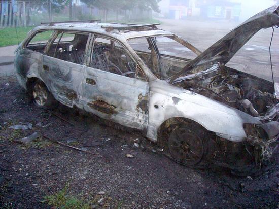 Пьяный кузбассовец поджигал автомобили