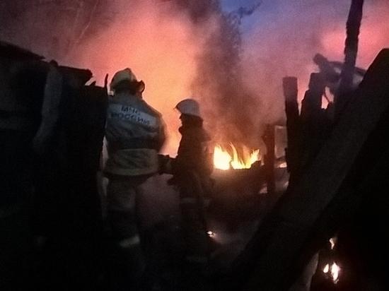 Массовые пожары продолжаются в Людиново