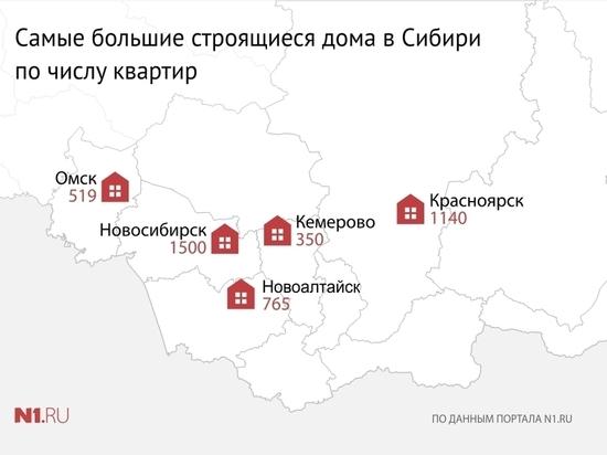 «Демидов Парк» попал в ТОП сибирских многоэтажек с самым большим количеством квартир