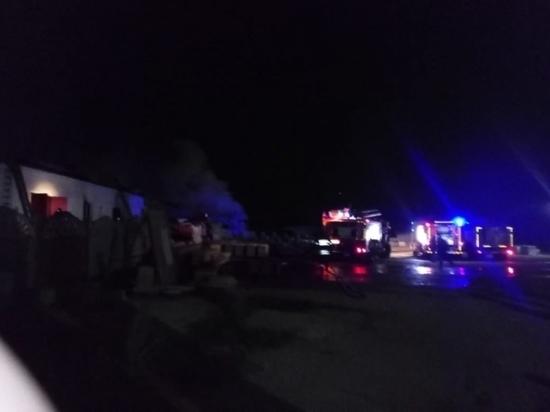 В Заокском районе огонь уничтожил церковные  пристройки