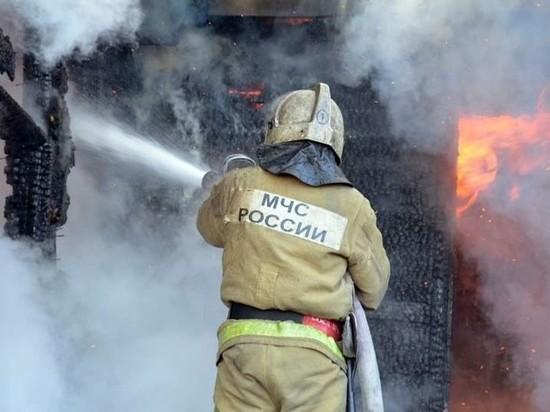 Пожарные отправились в баню в Тверской области