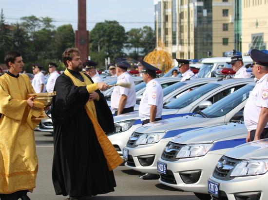 Автопарк полиции Ставрополья пополнился 50 автомобилями