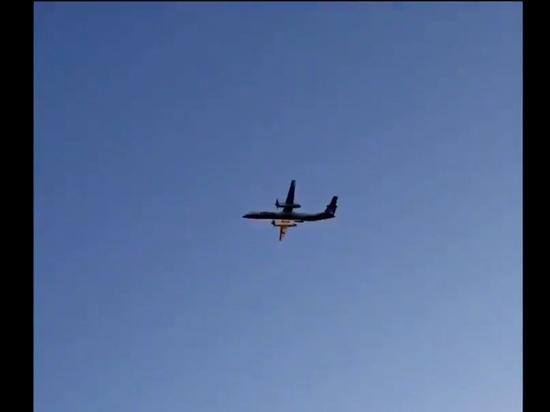 """""""Какого черта?"""": опубликовано видео преследования угнанного в США самолета"""