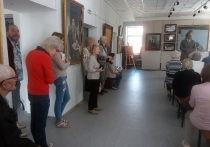 В Тверской области проходит выставка работ московских художников