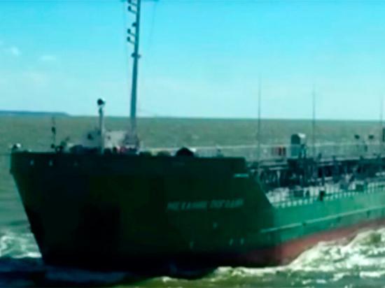 Танкер «Механик Погодин» используют для блокады Азовского моря