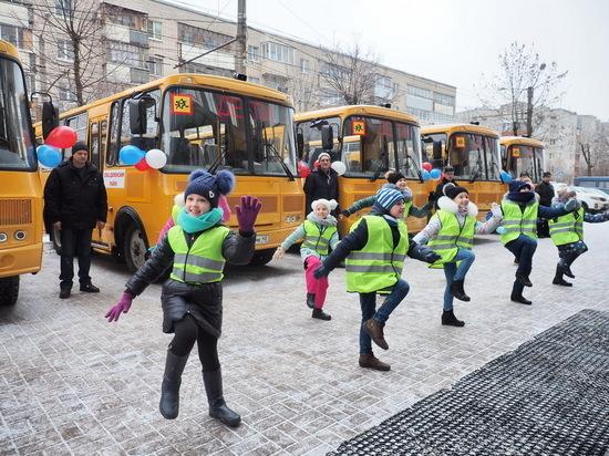 Все школьные автобусы старше 10 лет списали в Калужской области