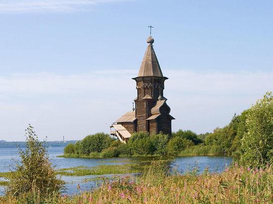 Уникальный деревянный храм в Карелии сжег школьник-сатанист