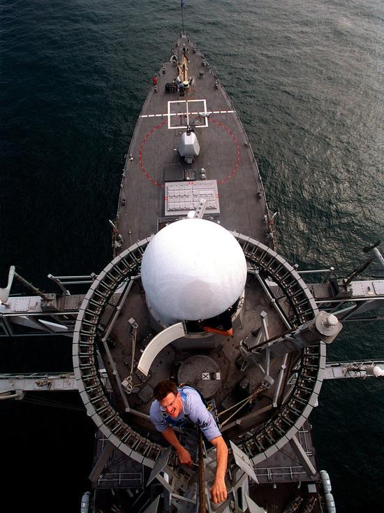 Американский военный корабль USS Carney вошел в Черное море