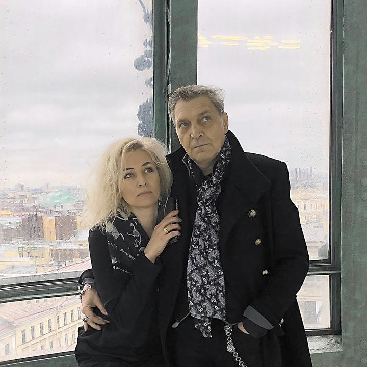 Александр Невзоров с женой Лидой