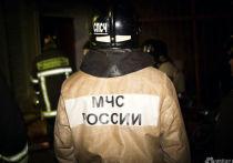 Пятиэтажный дом горел ночью в Междуреченске