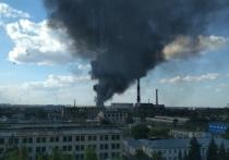 В Тамбове произошел пожар на ТЭЦ