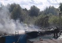 В Веневском районе сгорел дом