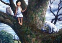 В субботу архангельские спасатели снимали с дерева 11-летнюю девочку