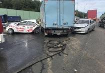 В Серпуховском районе произошло ДТП: один человек скончался на месте