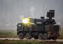 ЗРПК «Панцирь» сбивает  беспилотники в Сирии