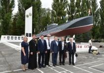 Серпуховичи поучаствовали в торжественных мероприятиях в Балтийске