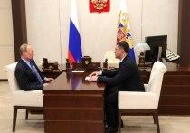 Путин назвал проблемой низкие доходы жителей Псковской области