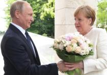 Раскрыты темы предстоящих переговоров Путина и Меркель