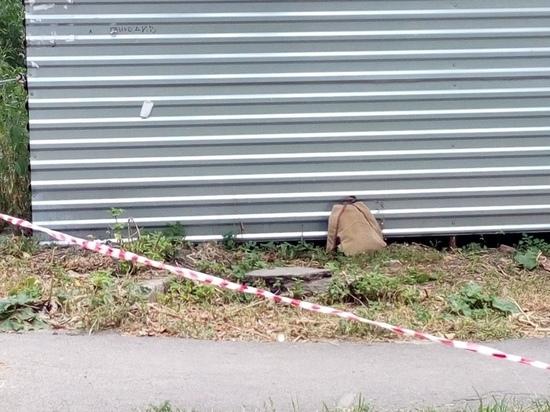 В центре Курска оцеплена улица. Молния