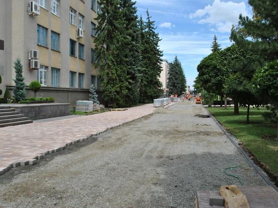 В Ставрополе продолжается обустройство исторической части города