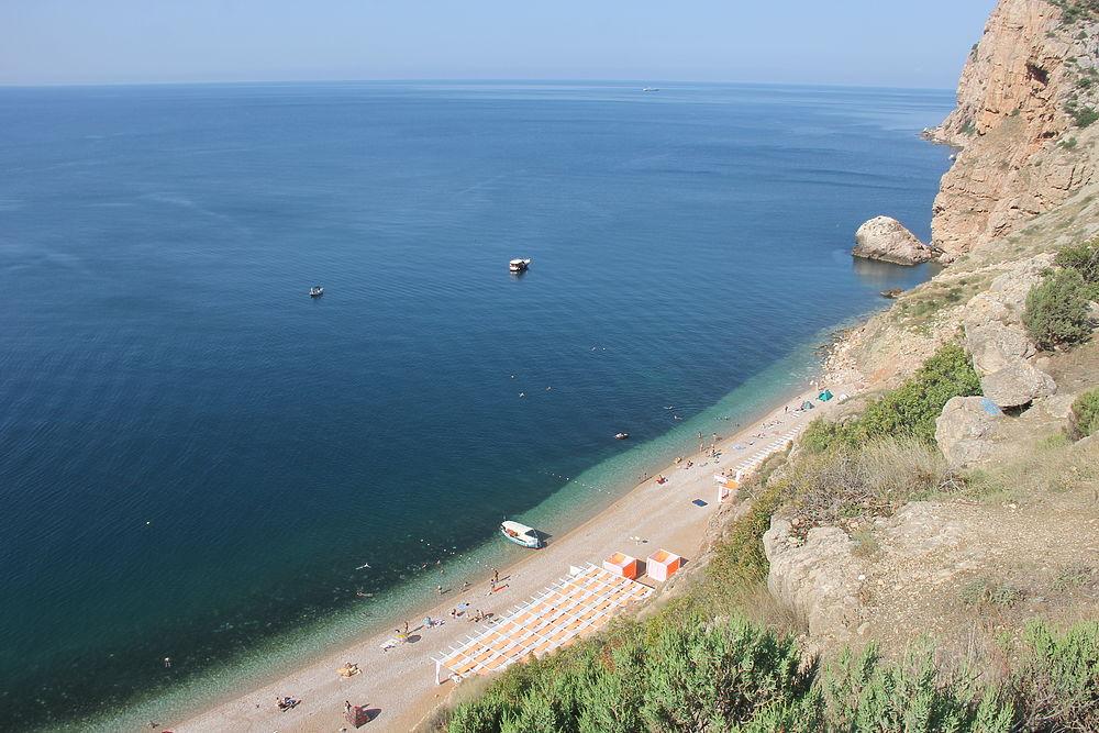 Крым великолепный: один из лучших экопляжей на полуострове - Васили