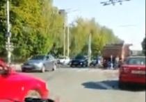 Калужские полицейские ищут очевидцев ДТП, где КАМАЗ сбил девочку