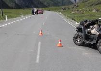 Двое новосибирцев перевернулись на квадроцикле в Республике Алтай из-за выбежавшей на дорогу овцы
