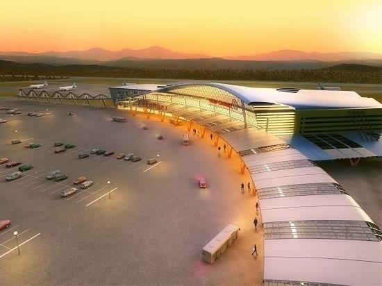 В регионе активно строится новая воздушная гавань