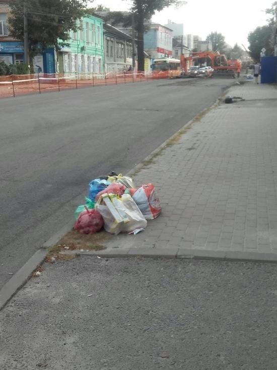 В Курске ограничение движения мешает мусоровозам