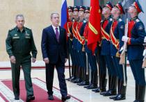 Шойгу провел переговоры с министром обороны Турции