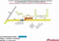 Улица Федосеенко в Нижнем Новгороде перекрыта до 20 августа