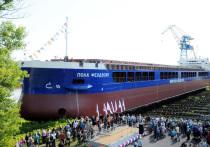 Сухогруз «Пола Феодосия» спущен на воду в Нижнем Новгороде