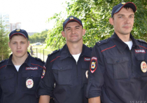Полиция опубликовала фото лучших омских ППС-ников