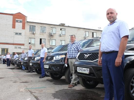 Все районы электрических сетей калужского филиала МРCК Центра и Приволжья получили новые полноприводные автомобили повышенной проходимости