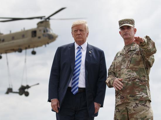 Трамп сказал Путину, когда американские военнослужащие покинут Сирию