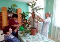 В ржевском доме престарелых отремонтировали главное место встреч бабушек и дедушек