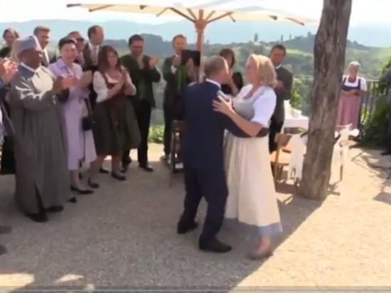 Танец Путина и хор казаков: появилось видео из Австрии