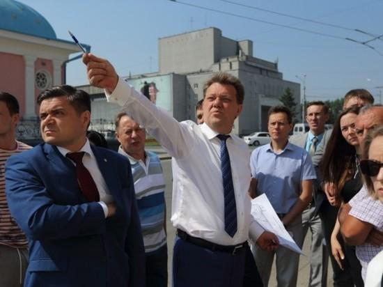 Мэр Томска неудачно «попиарился» на Левобережной дороге