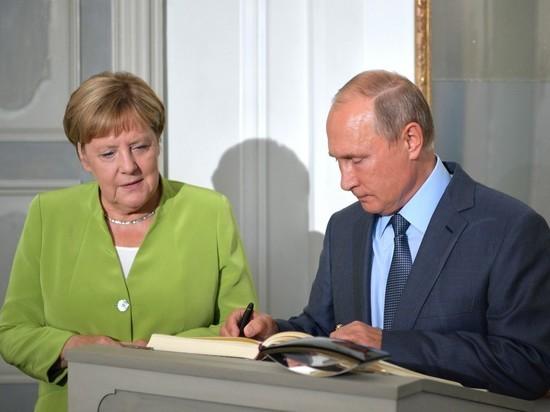 Эксперты рассказали, что утаили от журналистов Путин и Меркель