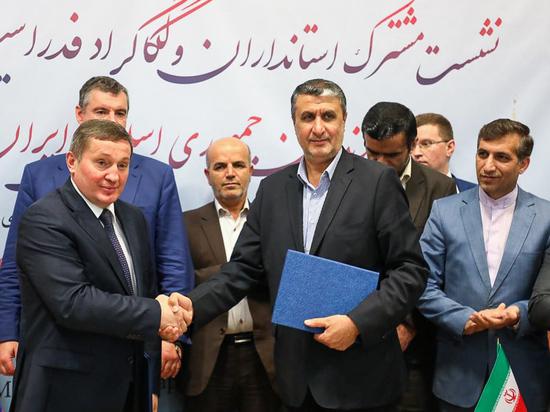 Бочаров подписал меморандум с иранским Мазандараном