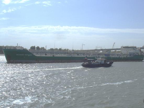 Владелец «Механика Погодина» назвал причину задержания судна на Украине